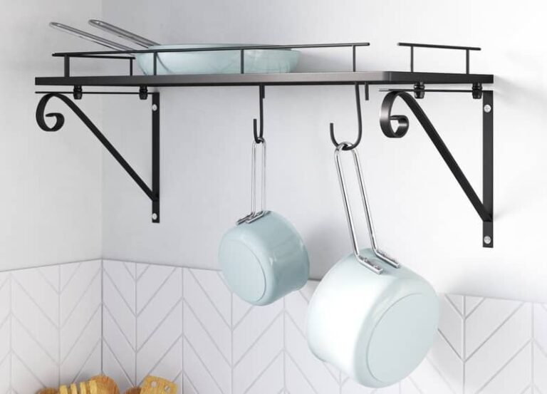 Best Wall-Mounted Pot Rack For Kitchen
