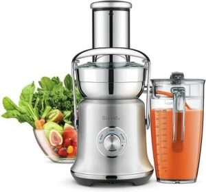 Breville BJE830BSS Juice Fountain Cold XL Centrifugal Juicer