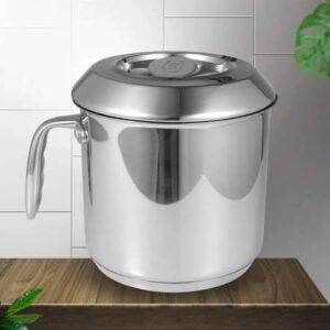 Stainless Steel 2 Quart Milk Pot